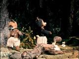 Два жадных медвежонка (кукольный). Мультфильмы режиссера Владимира Дегтярёва. (Союзмультфильм, 1954г)