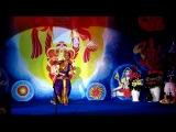Танец Джей Шри Дурга - танцует Евгения Луценко - концерт на Международной Рождественской Пудже в Киеве. 31.12.2012
